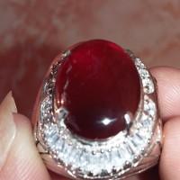 Batu Akik Khas Pacitan Jenis Kalsedon Merah/Red Baron