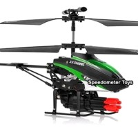 RC Helicopter WLToys V398 Missile 3.5 Ch Gyro | RC Heli Tembak Misil