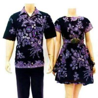 Jual batik sarimbit dress/couple Murah