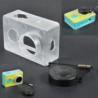 harga Hardcase / Protective Plastic Case Cover+lens Cap For Xiaomi Yi Sports Tokopedia.com