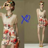 Dress magdalena @63.000 spdk fit L pjng 85 rok motif asli