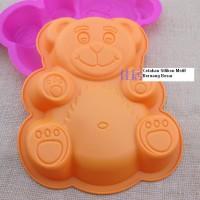 Cetakan Silikon Motif Beruang Besar Tersenyum