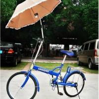 Stand/Penjepit/Holder Payung untuk Sepeda/Baby Stroller