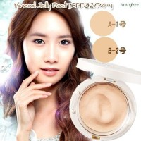 INNISFREE Mineral Jelly Pact SPF 36 PA++ BB Cushion Foundation Powder