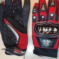 Sarung Tangan MadBike Merah Hitam