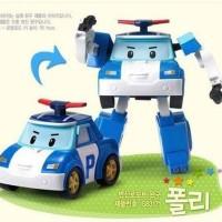 Robot police car poli robocar mobil polisi anak kids toys boys mainan