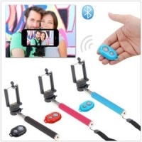 Tongsis Monopod Holder U + Tomsis Wireless Bluetooth Remote Shutter