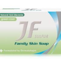 Sabun Sulfur Pembasmi Jamur dan Bakteri JF Sulfur Family Skin Soap