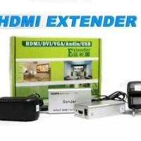 HDMI EXTENDER 60m SINGLE LAN RJ45