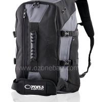 Ransel Travel Multifungsi OZONE 304 + Raincover [ABU TUA]