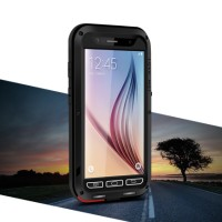 Casing Love Mei Lunatik Samsung Galaxy S6 Case Powerful Anti Shock