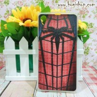 Sony Xperia Z1 - Custom Case Softcase Gambar Spiderman