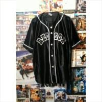harga jersey baseball redsox hitam Tokopedia.com