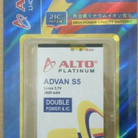 BATERAI ADVAN 5S ALTO DOUBLE POWER