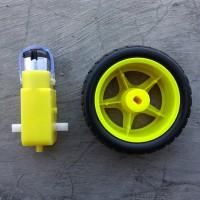 harga Smart Car Motor Gearbox 6V + Roda Tokopedia.com