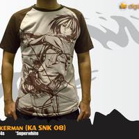 Mikasa Ackerman T-shirt (Kaos Anime Attack on Titan - KA SNK 08)