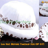 harga Trafalgar Law Hat (topi Anime One Piece - Ga Op 07) Tokopedia.com