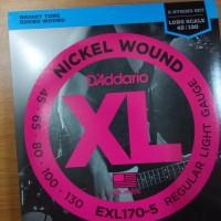 harga D'addario Exl 170-5 Senar Bass 5 String 045 Ori Usa Tokopedia.com