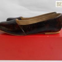 Sepatu Flat / Flat Shoes Bebbo Coklat Motif
