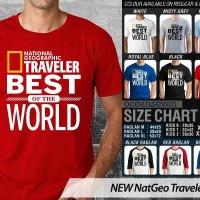 Ocean Seven Shirt - NEW Nat Geo Traveler 2 CR