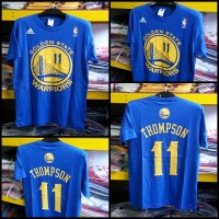 T-Shirt NBA Golden State Warriors Klay Thompson Biru #11