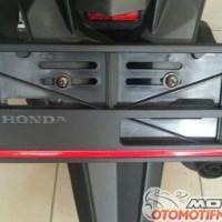 Pelindung Plat Nomor Motor