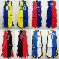 Split Fashion Basketball Jersey