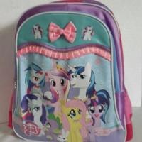 harga Tas ransel anak sekolah SD my little pony pita pink Tokopedia.com