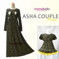 ASHA Kuning Gamis Hamil Menyusui Couple