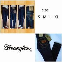 jeans wrangler Blue