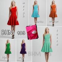 Mini Dress Hamil dan Menyusui - bhm 103
