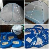 kelambu lipat RANGKA PLASTIK PVC 120 x 200