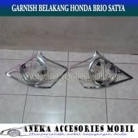 harga Garnish Lampu Belakang/Rear Lamp Garnish Mobil Honda Brio satya Tokopedia.com