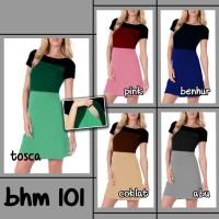 Mini Dress Polos Modern Hamil Menyusui - BHM 101