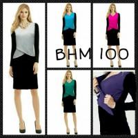 Mini Dress Trendy Hamil Menyusui - BHM 100