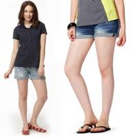 Mamaway Denim Maternity Shorts