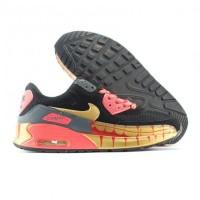 Nike Air Max 90 Zombie Run hitam gold