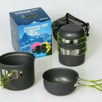 Panci Camping /camp cooking set
