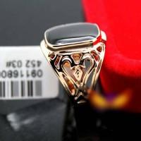 harga Cincin Batu Black Opal Di Lapis Dengan Emas 18k Tokopedia.com