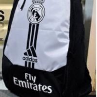 harga Tas Ransel Real Madrid Muat Laptop Murah Bagus Baru Putih Hitam Ready Tokopedia.com