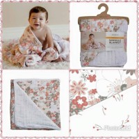 Bebe Au Lait Snuggle Blankets Perky + Billy Button