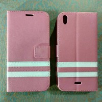 [pink] Leather Case For Infinix Hot Note X551