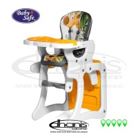 harga Kursi Makan Bayi Baby Safe High Chair Separate Table & Chair Jungle Tokopedia.com