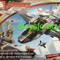 Lego SY327 Quinjet Aerial Battle