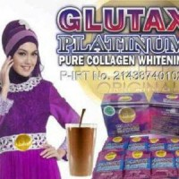 GLUTA PLATINUM ( + COLLAGEN LBH BANYAK DARI GLUTA