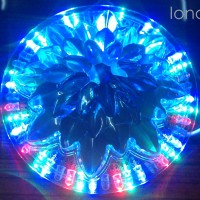 Lampu disco led putar sunflower