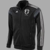 Jaket bola original Adidas japan anthem hitam