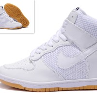 Sneakers Wedges Nike Sky High Froce White
