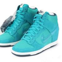 Sneakers Wedges Nike Sky High Dunk Blue sky