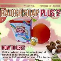 Radish Soap (Sabun Penghilang Bekas Luka)